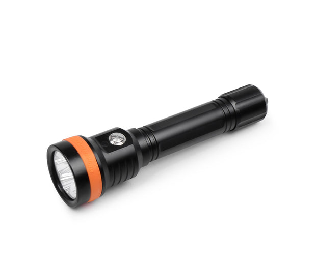 OrcaTorch D850 2500 Lumens Portable Dive Light with 6° Super Focus Beam and Long Beam Distance - OrcaTorch Dive Lights