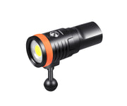 OrcaTorch D910V 5000 Lumens High CRI Neutral White Video Light for Underwater Photography - OrcaTorch Dive Lights