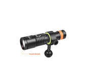 OrcaTorch Snoot for D530V Dive Light - OrcaTorch Dive Lights