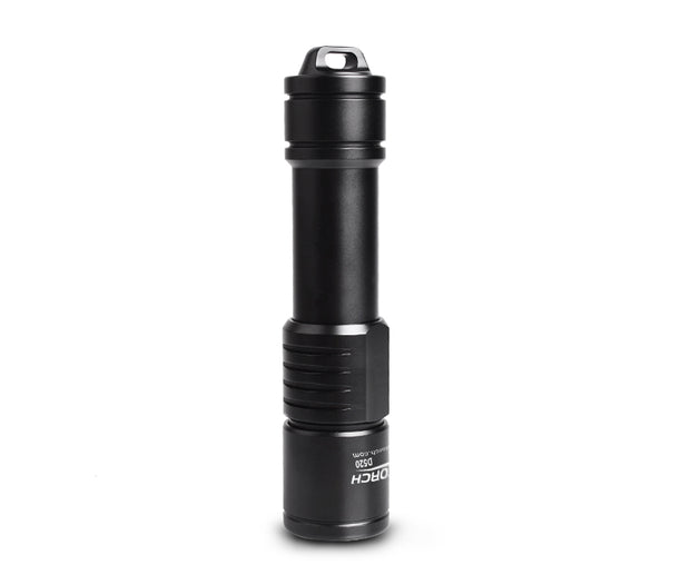 OrcaTorch D520 1000 Lumens Scuba Diving Light with Mechanically Rotary Switch - OrcaTorch Dive Lights