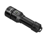 OrcaTorch D570-RL 1000 Lumens Red Laser Dive Light for Recreational Diving and Commercial Diving