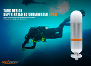 OrcaTorch SD01 Dive Beacon Mini Glow Tank - OrcaTorch Dive Lights