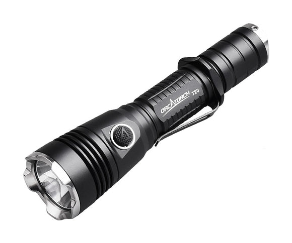 OrcaTorch T20 980 Lumens Tactical Flashlight