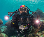 OrcaTorch D900V 2200 Lumens Video Dive Light Specially Designed for the Underwater Photographer - OrcaTorch Dive Lights