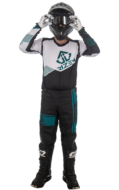 FORCE MOTO - BLACK/TEAL