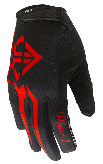 PHAZE 1 GLOVES - BLACK/RED