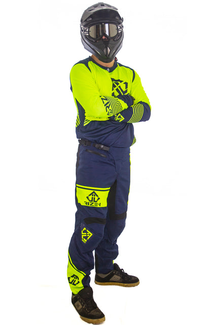 FORCE BIKE - NAVY/HI-VIZ