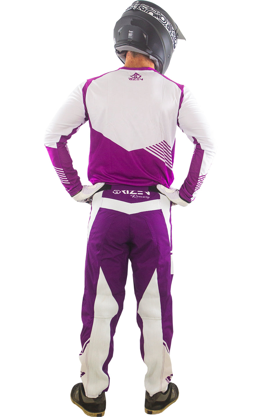 FORCE BMX - PURPLE/WHITE