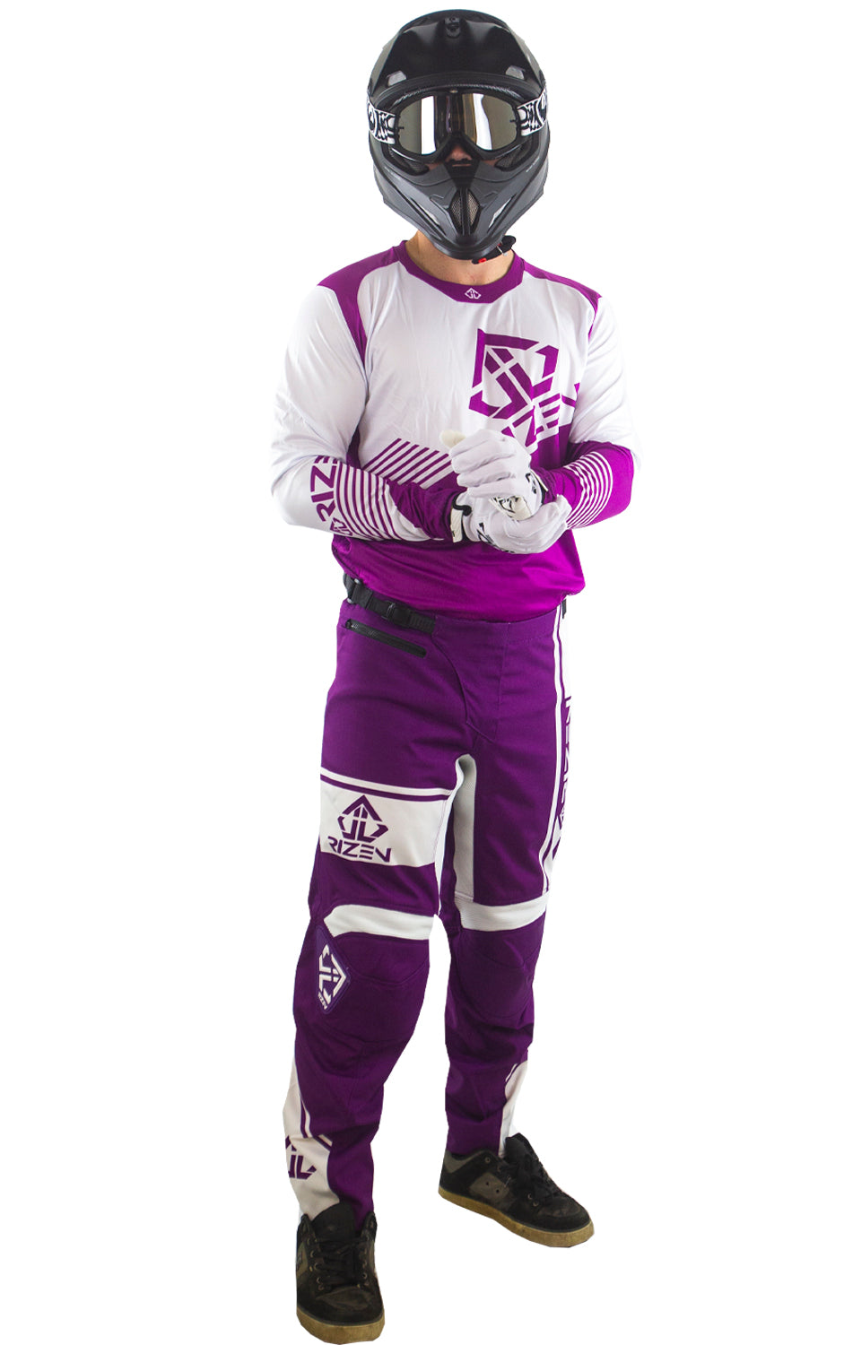 FORCE BIKE- PURPLE/WHITE