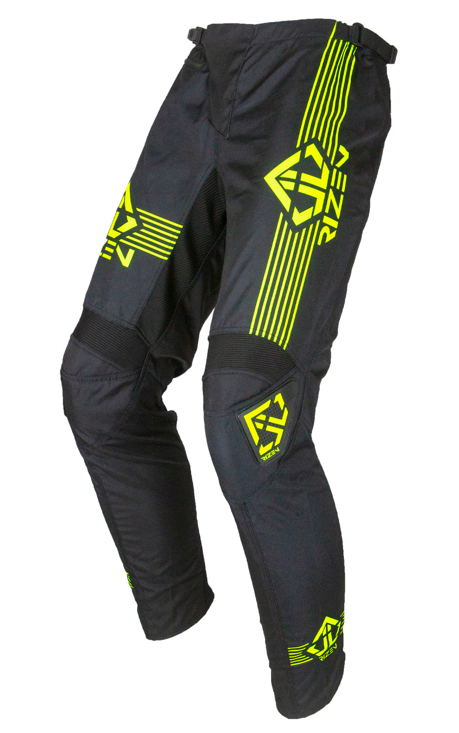 PHAZE 1 PANTS KIDS - BICYCLE - BLACK/HI-VIZ