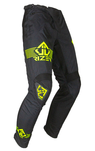 PHAZE 1 PANTS YOUTH - BICYCLE - BLACK/HI-VIZ