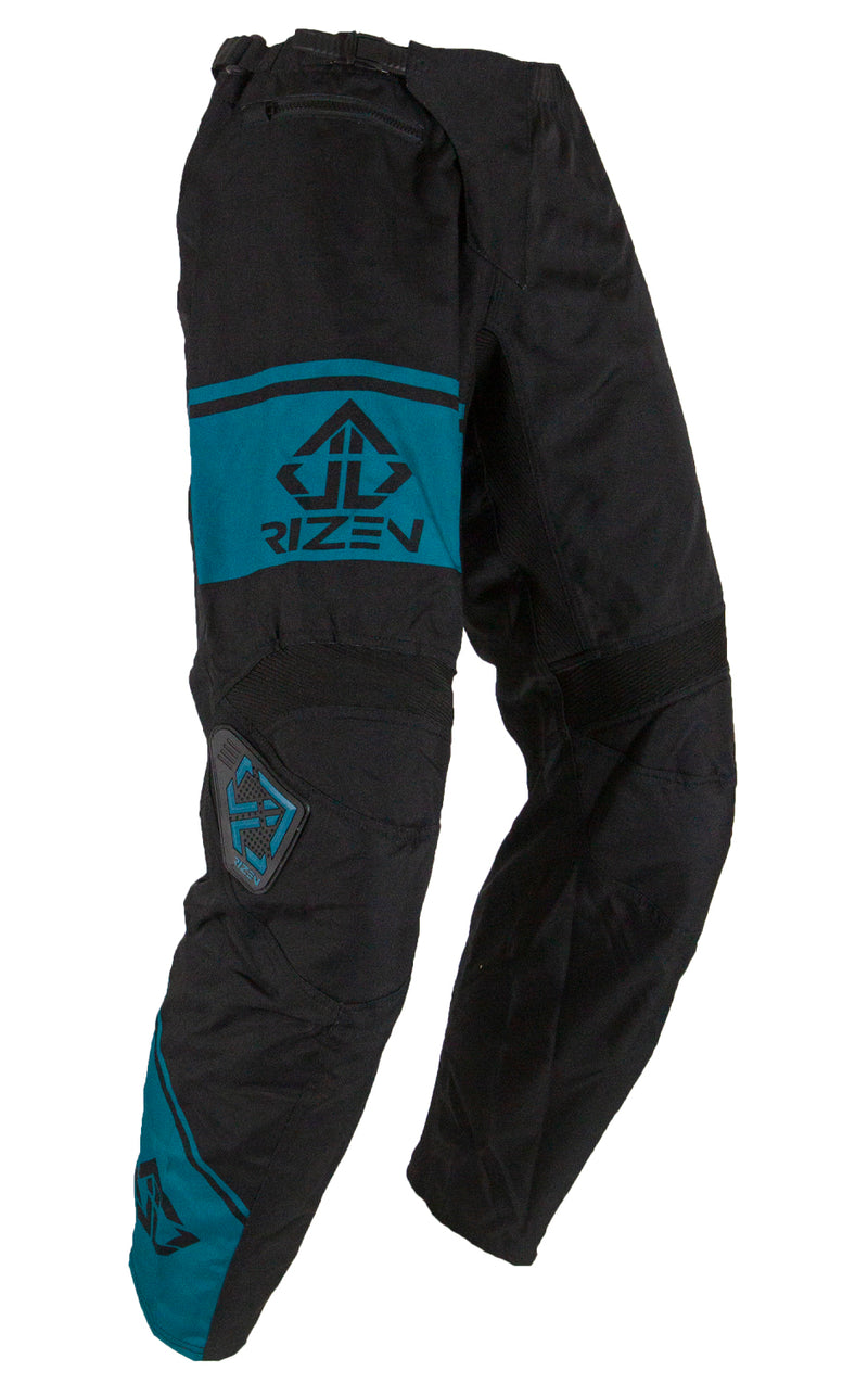 FORCE PANTS -BLACK/TEAL