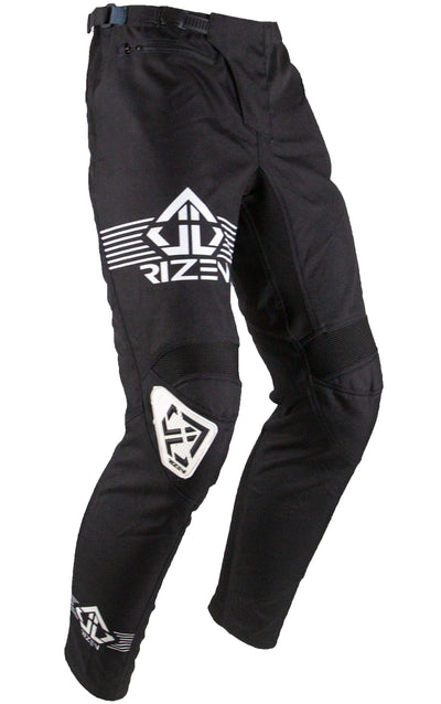 PHAZE 1 PANTS YOUTH - BICYCLE - BLACK/WHITE