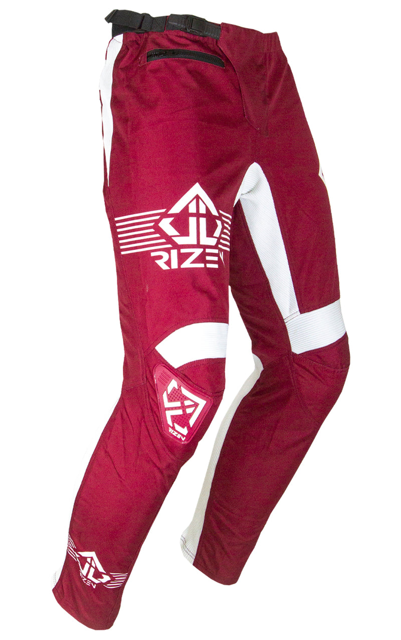 PHAZE 1 PANTS YOUTH - BICYCLE - MARONE/WHITE