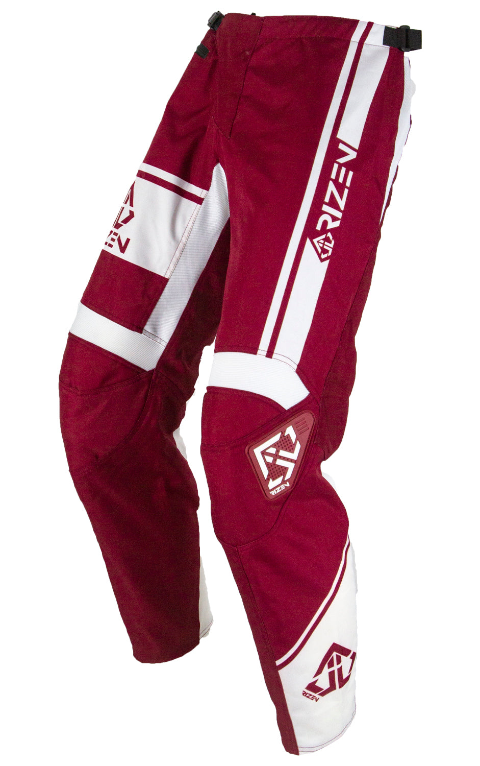 FORCE PANTS - MARONE/WHITE