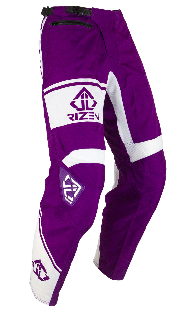 FORCE PANTS - PURPLE/WHITE