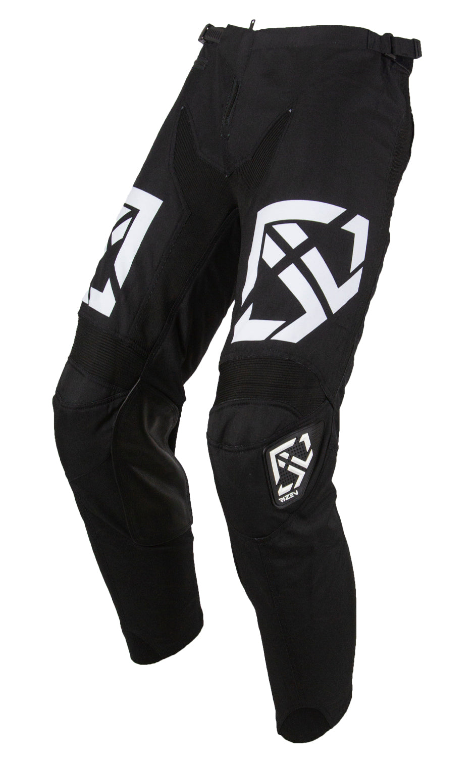 PHAZE 1 PANTS YOUTH - MOTO - BLACK/WHITE