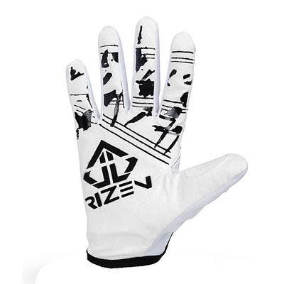 S-LITE WHITE/BLACK RACE GLOVE