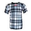 AMBUSH MTB SHORT SLEEVE JERSEY - FLANNO BLACK/WHITE