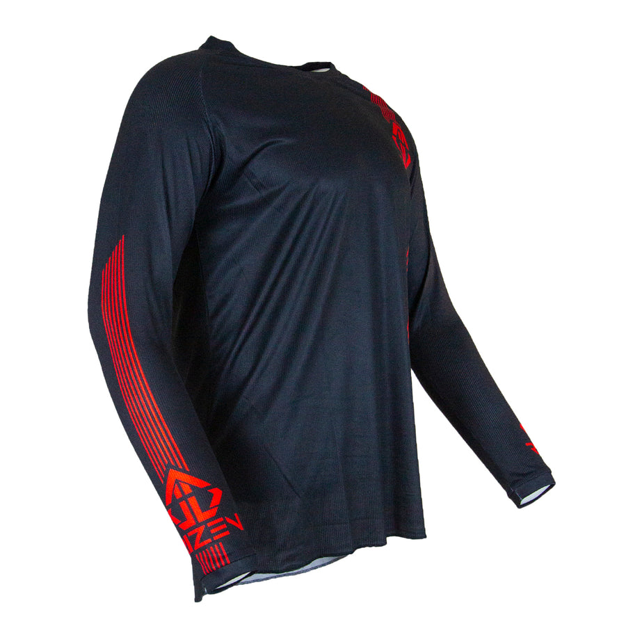 PHAZE 1 JERSEY - BLACK/RED