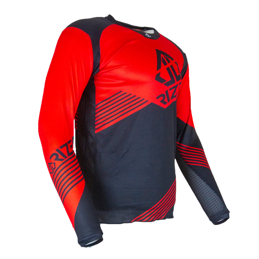 ULTRA RS JERSEY - BLACK/RED