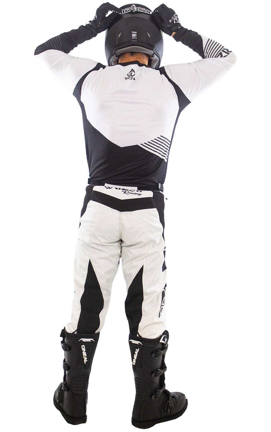 FORCE MOTO - WHITE/BLACK