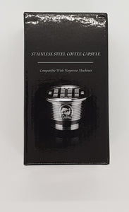 Stainless Steel Nespresso Capsules - box of two