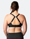 Nursing Sports Bra - Radiance Bra Black