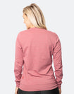 Maternity Top - Crew Neck Jumper Rose Marle