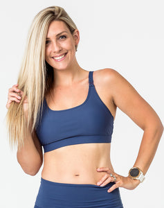 Breastfeeding Bra - Freedom Bra Bondi Blue