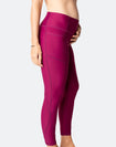 Power FIT - High Waisted Tights 7/8 Plum
