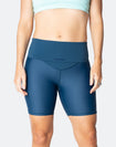 High Waisted Bike Shorts - Classic Aspen