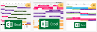 Excel Roadmap Bundle