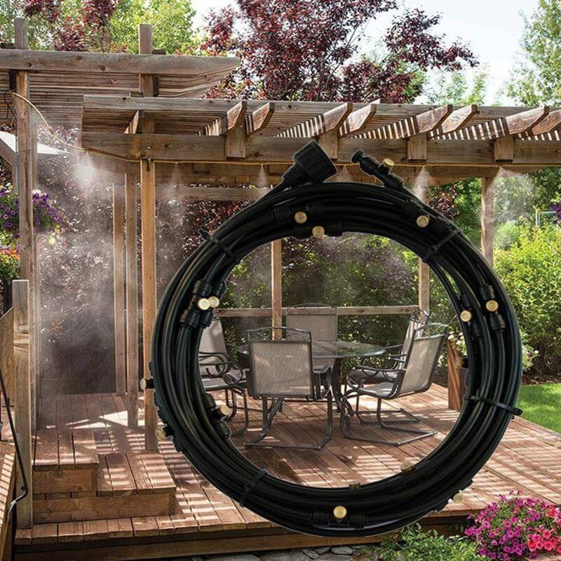 OUTDOOR COOLING MIST SYSTEM