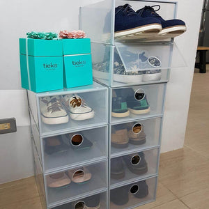 The Ultimate Stackable Shoe Organizer