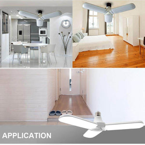 LED Pendant Light Foldable Fan Blade