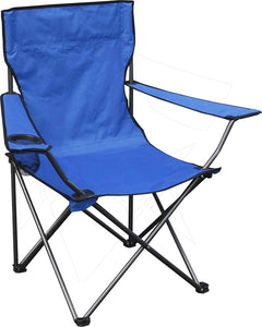 Foldable Outdoor Chair with Mesh Cup Holder