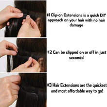 Easy Clip Hair Extension