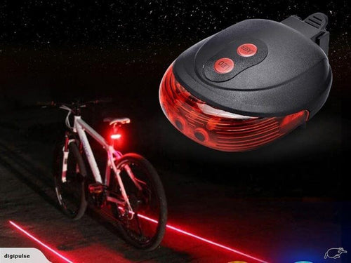 Bike Laser Lane LED Taillights