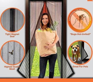 Magnetic Hands-Free Screen Door **BUY 1 TAKE 1**