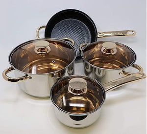 12-Piece Stainless Steel Induction Cookware Set **50% SALE**