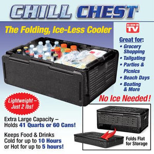 Foldable Ice-Less Chiller