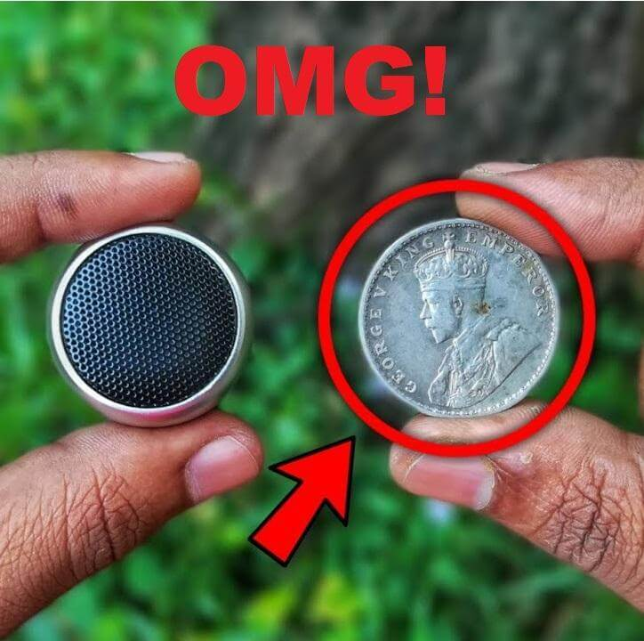 World's First Coin-Sized Bluetooth Speaker