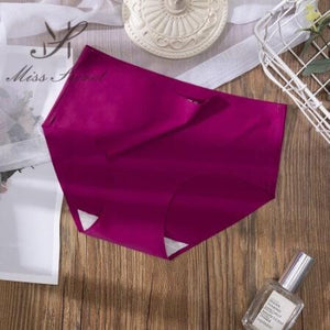 6PCS Seamless Sexy Silky Panty Set
