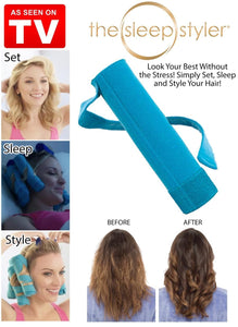 2 in 1 Heatless Hair Curler and Starightener