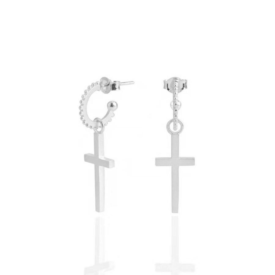 Sophia cross earrings