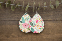 Summer Floral Earrings
