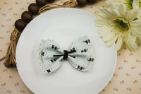 Girly Cow Ophelia Bow