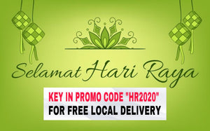 (FREE LOCAL DELIVERY) Selamat Hari Raya 2020 Promotions !