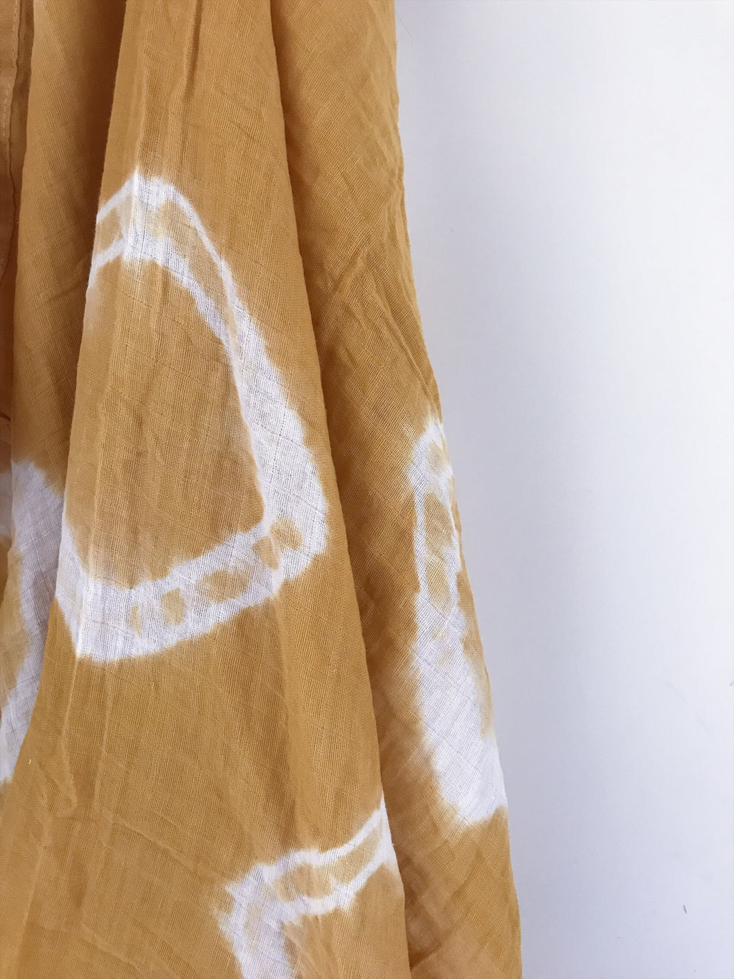 Sunshine Gold Tie Dye Wrap